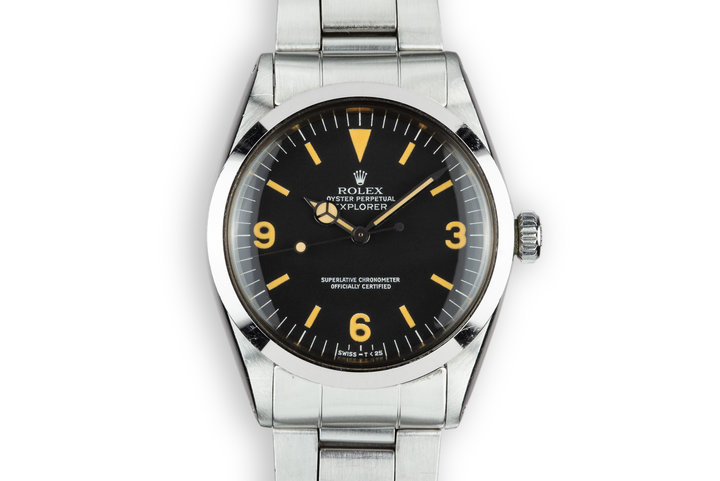 "1975 Rolex Explorer 1016 ""Pumpkin"" Dial photo"