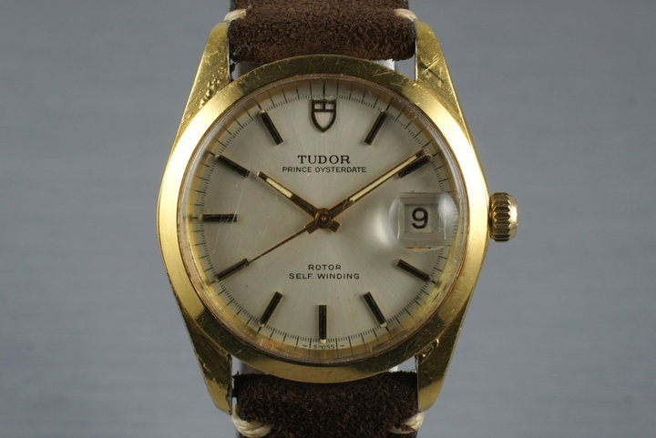 1968 Tudor Gold Shell Prince Oysterdate 9050/1 photo