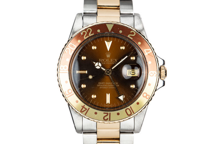 1980 Rolex Two-Tone GMT-Master 16753 photo