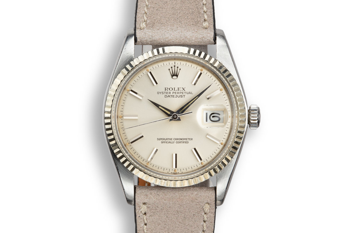 1978 Rolex DateJust 1601 Silver Dial photo, #0