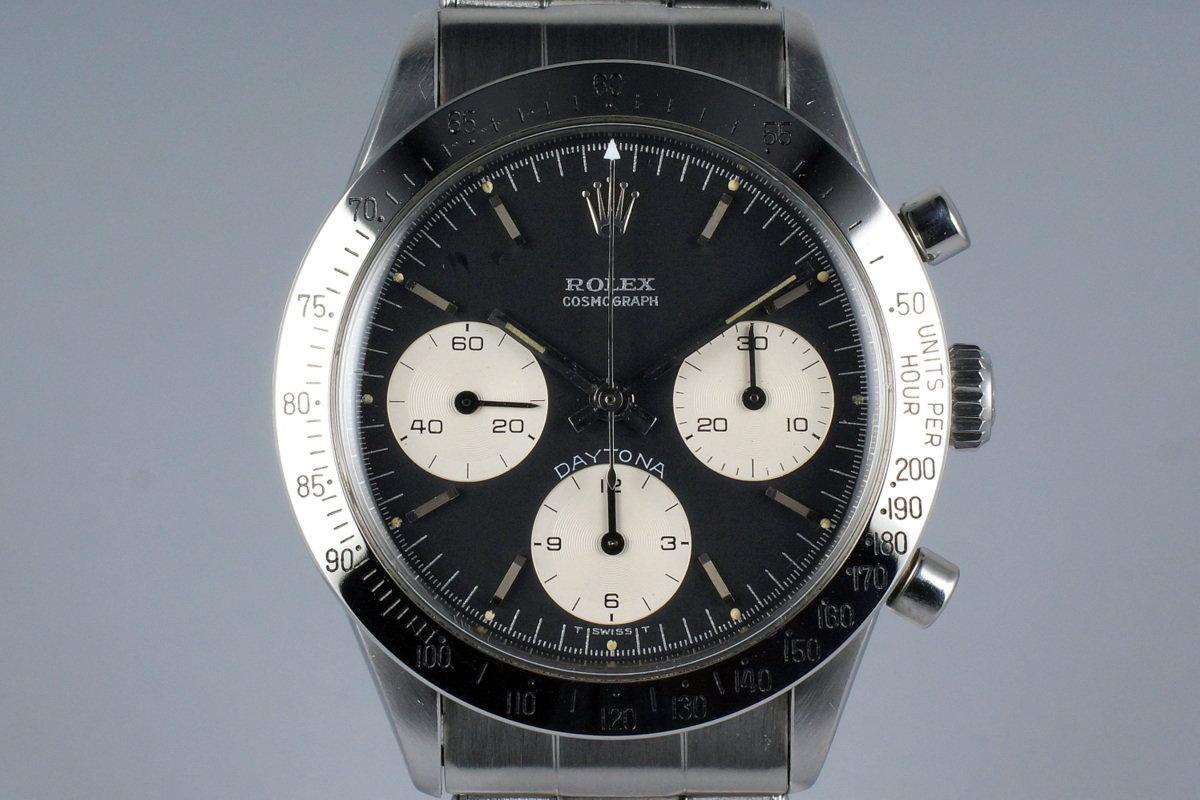 1968 Rolex Daytona 6239 Black 'Blue Daytona' Dial photo, #0