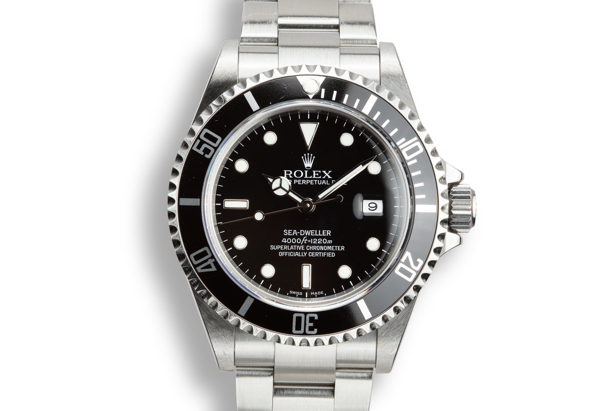 2006 Rolex Sea-Dweller 16600 T with Box and Papers photo, #0