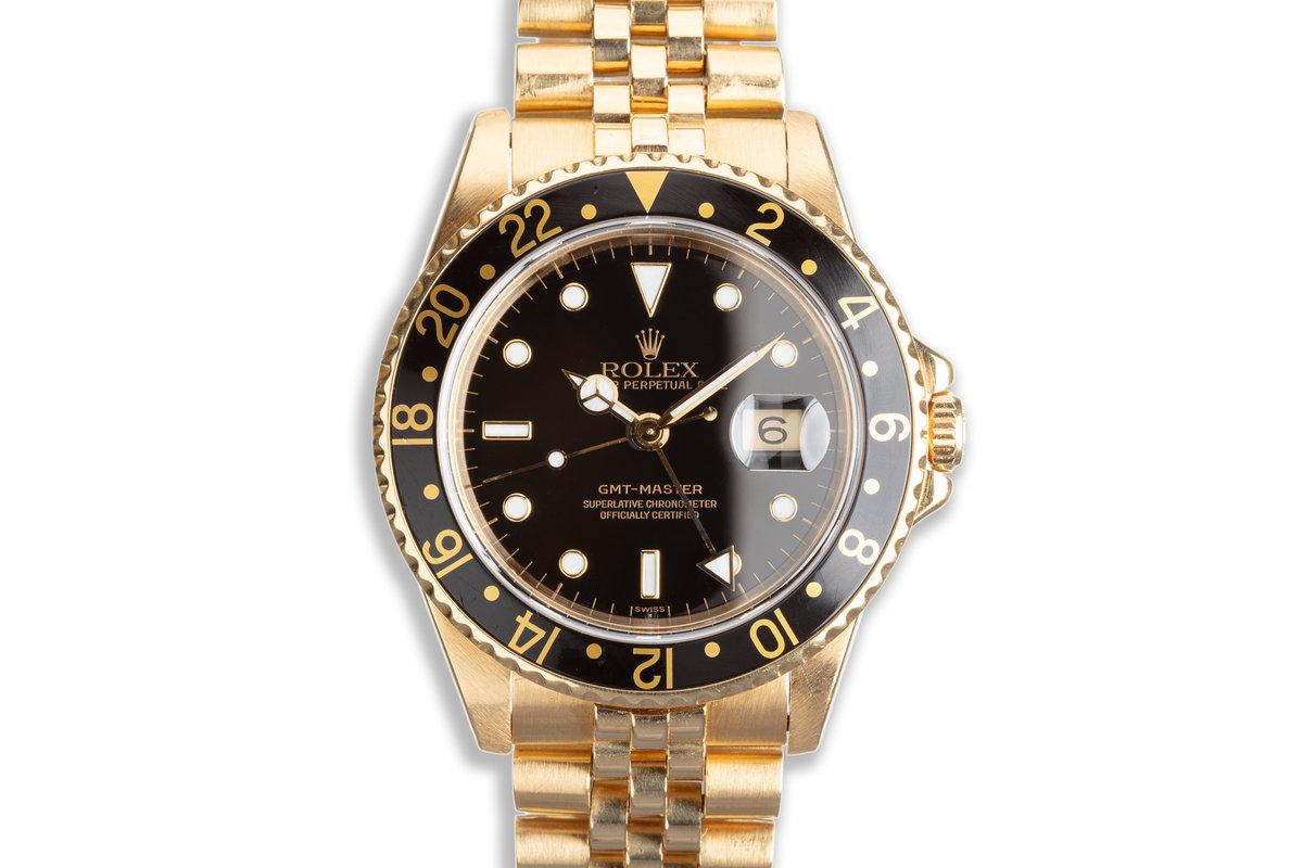 1983 Vintage Rolex 18K GMT-Master 16758 photo, #0