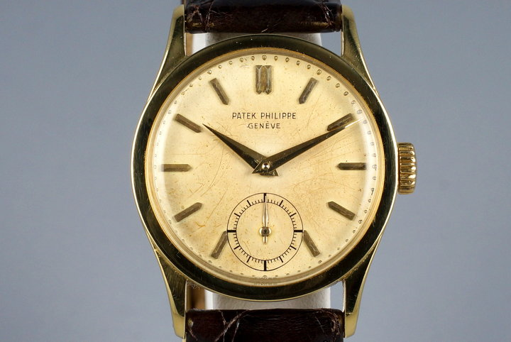 Vintage YG Patek Philippe Calatrava 96 photo