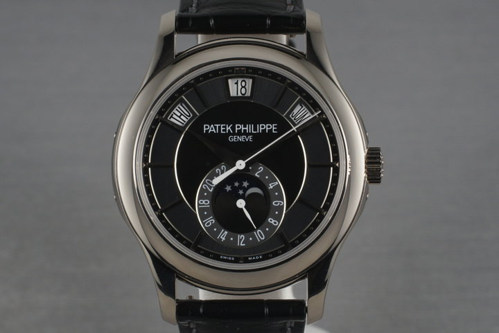 2011 Patek Philippe 18K White Gold 5205G Annual Calendar photo