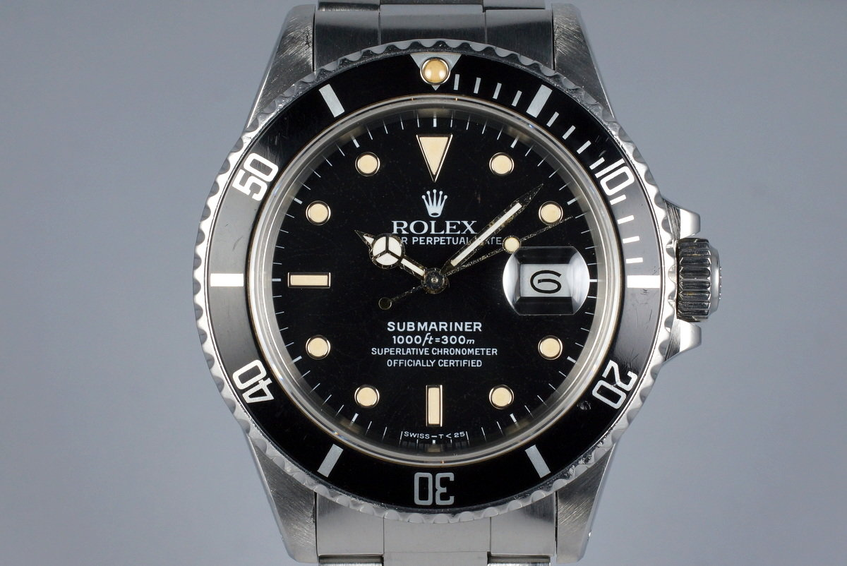 1986 Rolex Submariner 168000 photo, #0