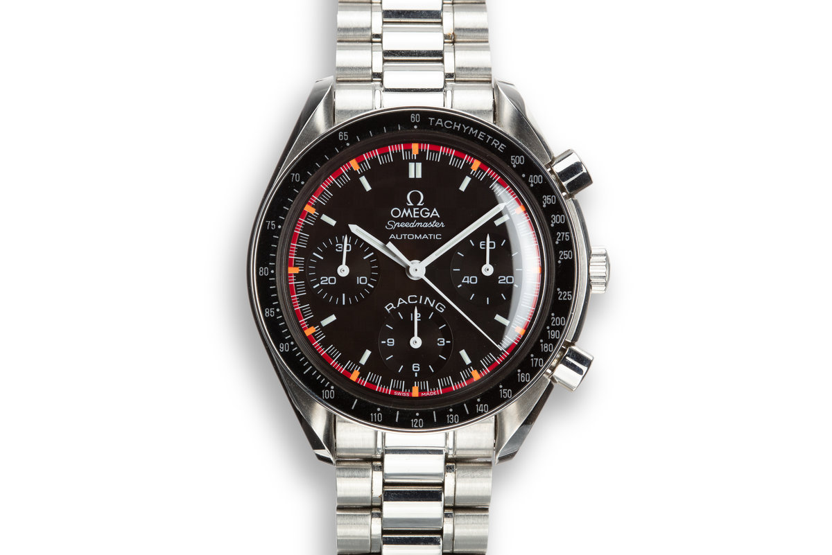 Omega Speedmaster Racing Schumacher World Champion 2000 3518.50.00 Black Dial with Box photo, #0