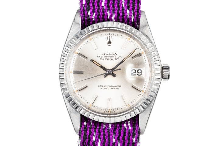 1965 Rolex DateJust 1603 Silver Dial photo