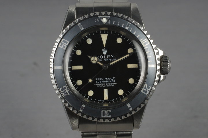 1967 Rolex Submariner 5512 with Meters First photo