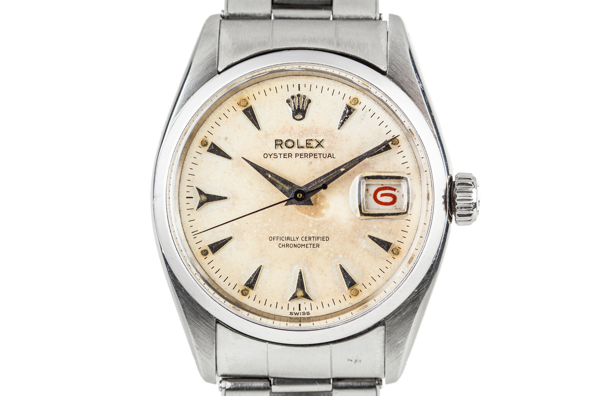 1955 Rolex Oyster Perpetual 6530 with Swiss only Dial photo, #0