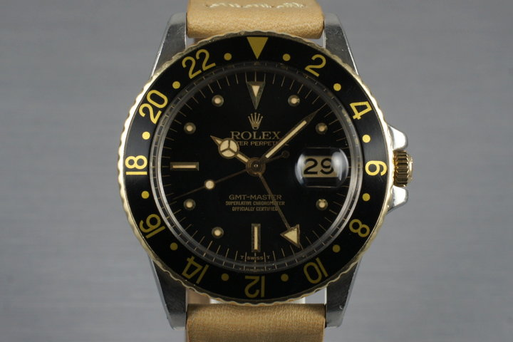 1980 Rolex Two Tone GMT 16753 photo
