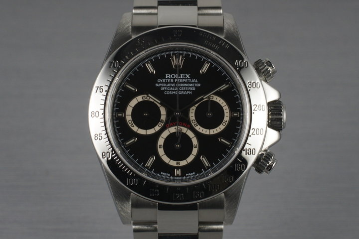 2000 Rolex Zenith Daytona 16520 with Box and Papers photo