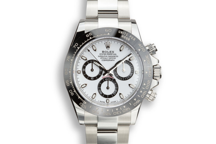 2019 Rolex Daytona 16500LN White Dial with Box and Papers photo