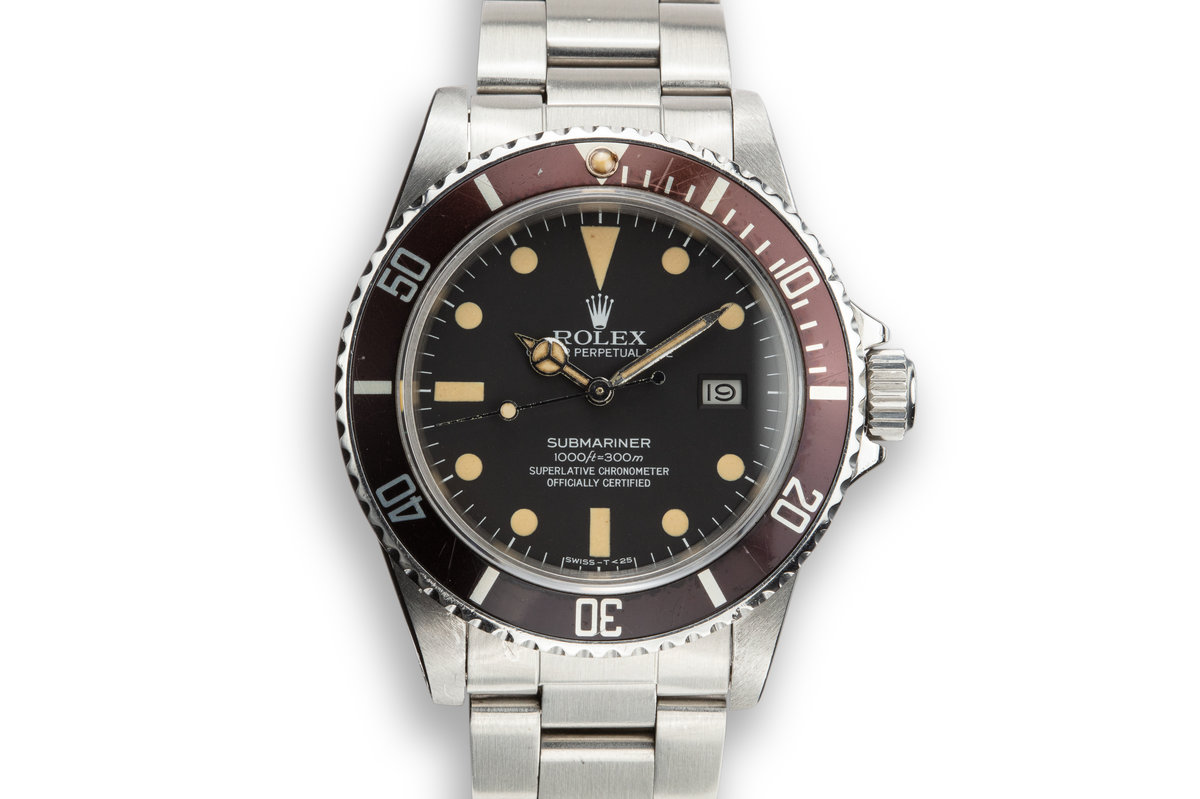 1982 Rolex Submariner 16800 with Box and Service Papers photo, #0
