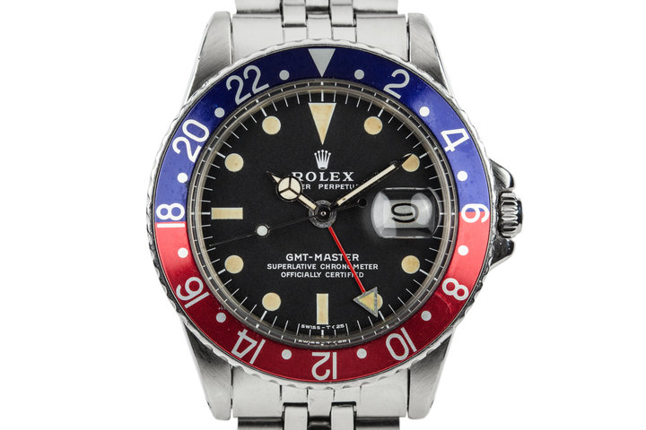 "1970 Rolex GMT-Master 1675 with ""Pepsi"" Insert photo"