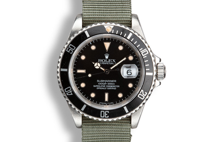 1989 Rolex Submariner 16610 photo
