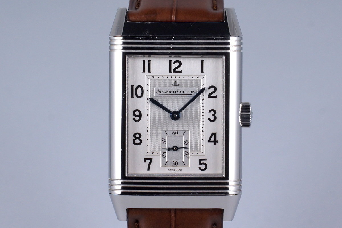 2013 Jaeger-LeCoultre Reverso Grande Taille 270.8.62 with Box and Papers photo, #0