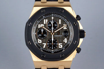 Audemars Piguet Royal Oak Offshore Rose Gold 25940OK with Box and Papers photo