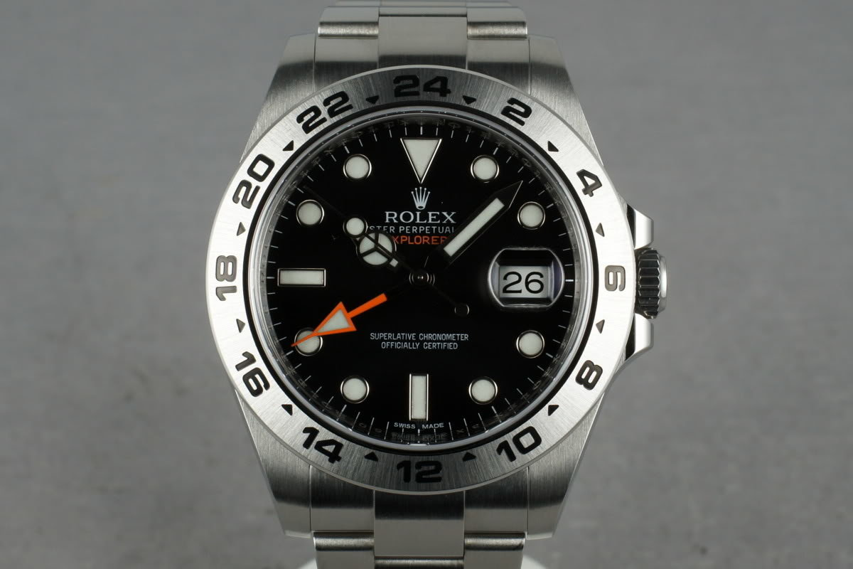 2013 Rolex Explorer II 216570 photo, #0