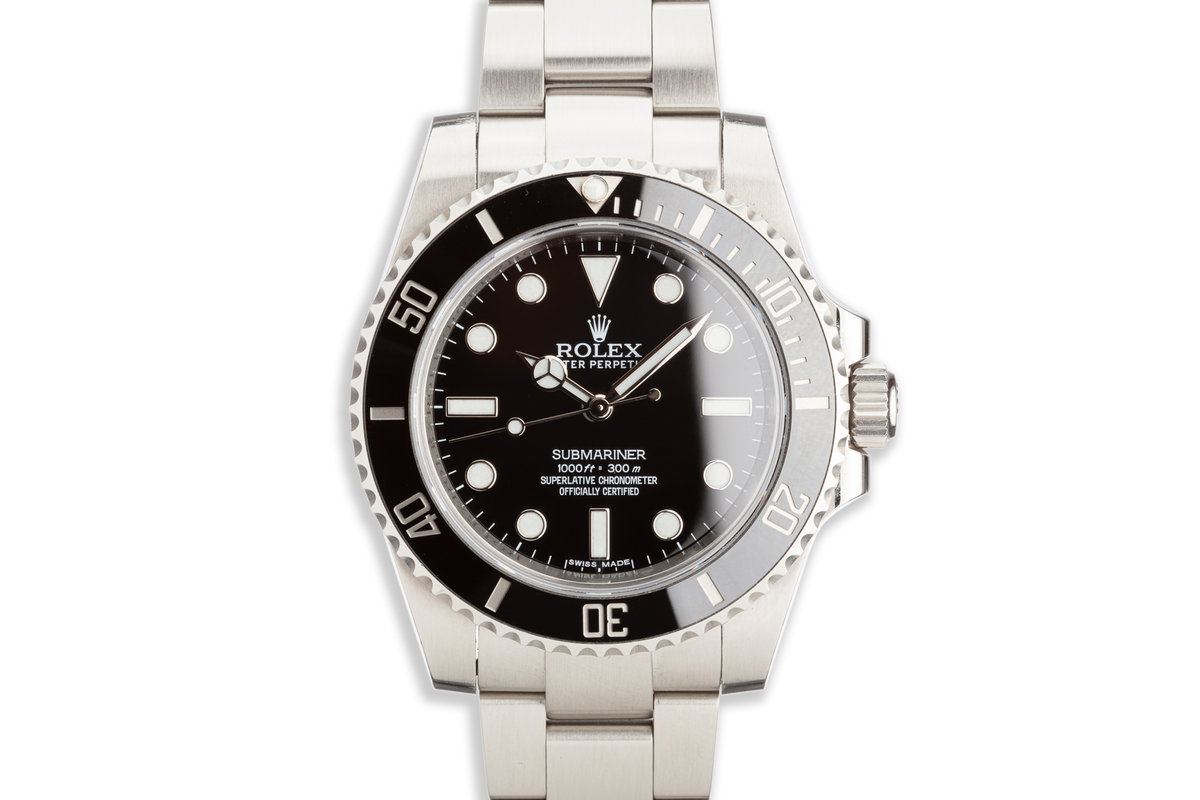 Rolex Submariner 114060 photo, #0