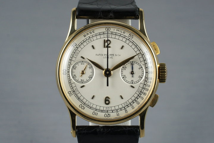 1950's 18K YG Patek Philippe 130 Chronograph photo