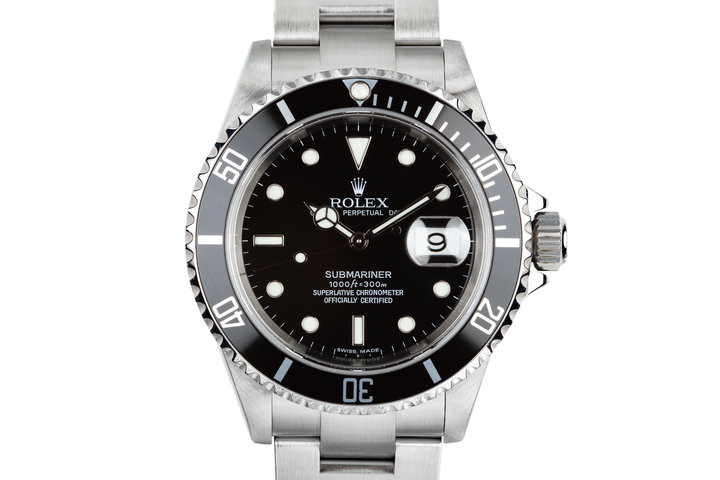 2006 Rolex Submariner 16610T with Service Papers photo