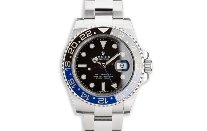"2016 Rolex GMT-Master II 116710BLNR ""Batman"" with Box and Card photo"