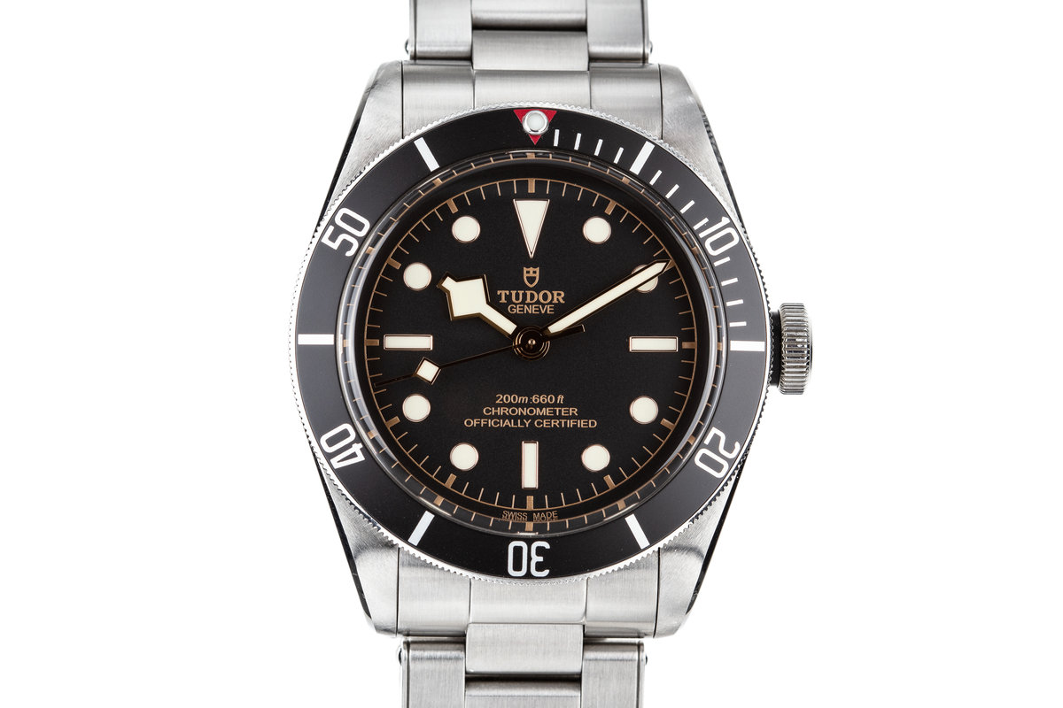 2017 Tudor Heritage Black Bay with Box and Papers photo, #0