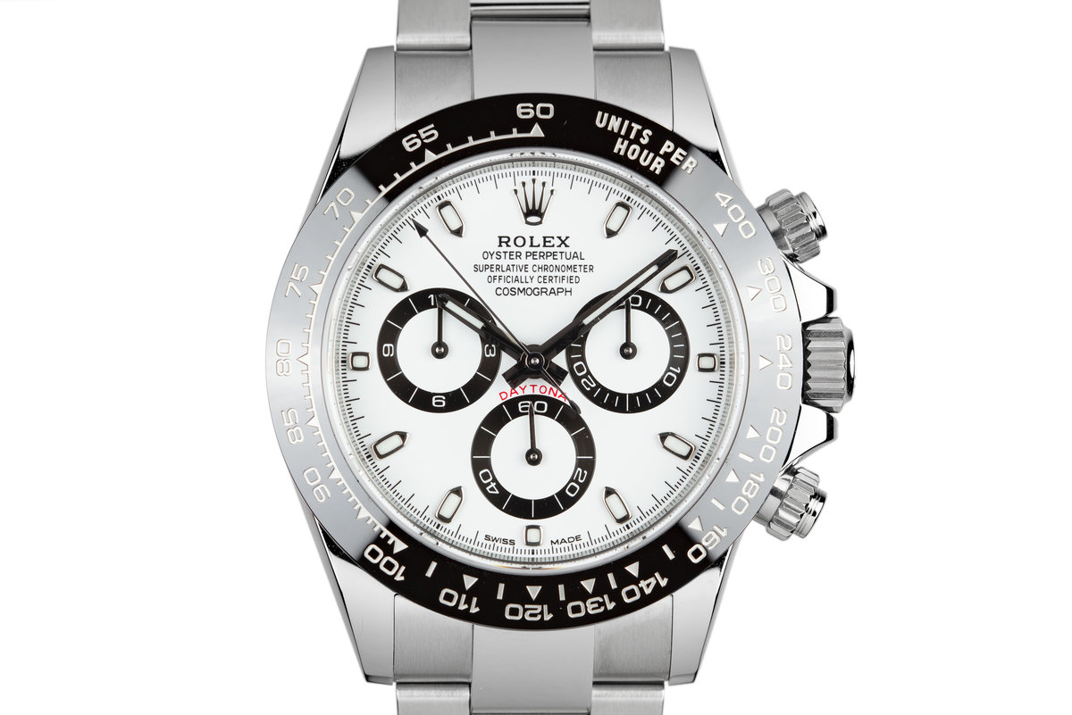 2018 Rolex Ceramic Daytona 116500LN White Dial with Box and Papers photo, #0
