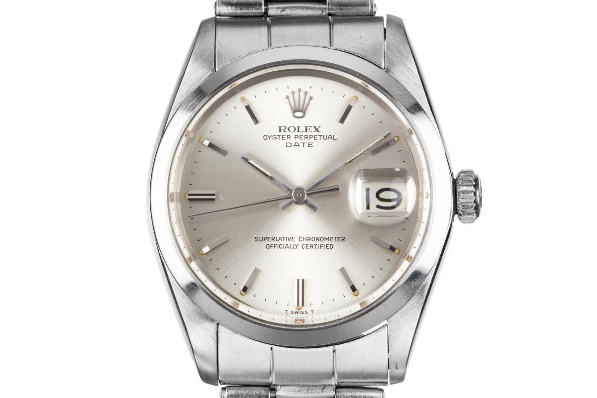1967 Rolex Date 1500 Silver Dial photo, #0