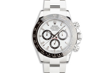 2019 Rolex Daytona 116500LN White Dial with Box and Card photo