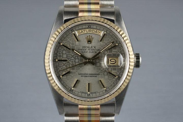 1987 Rolex Day-Date 18039B TRIDOR photo