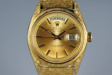 1966 Rolex YG Day-Date 1806 with Morellis Finish photo