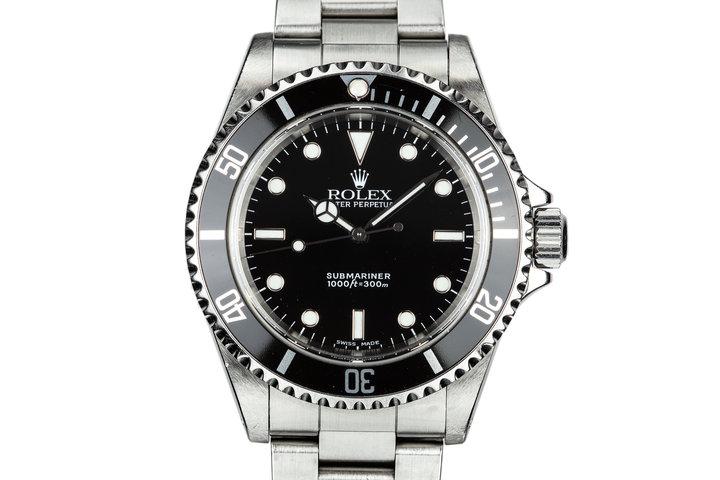 1999 Rolex Submariner 14060 photo