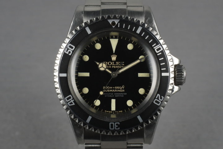 1966 Rolex Submariner 5512 with Glossy Bart Simpson Gilt Dial photo
