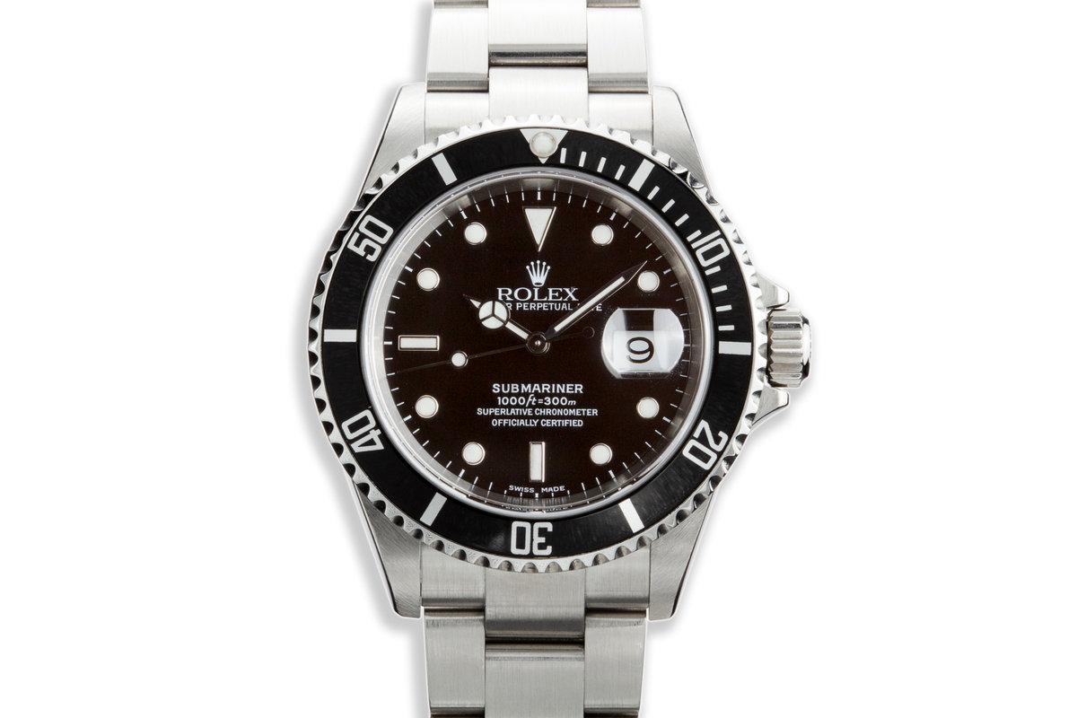 2003 Rolex Submariner 16610 photo, #0