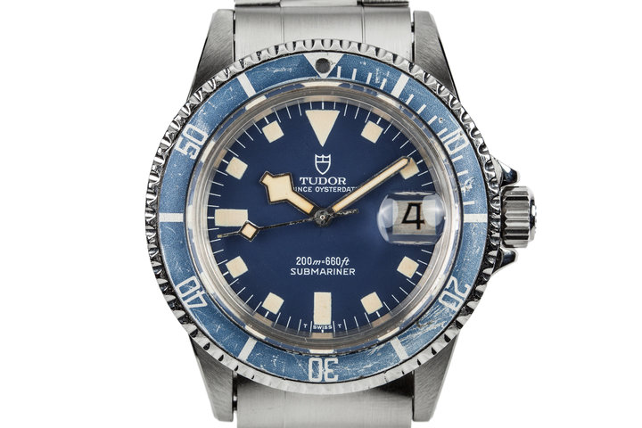 1981 Tudor Submariner 94110 with Blue Snowflake Dial photo