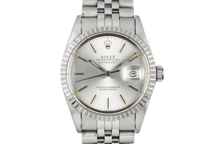 1986 Rolex DateJust 16030 Silver Dial photo