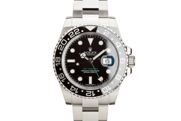 2016 Rolex GMT-Master II 116710LN Black Bezel with Box and Card photo