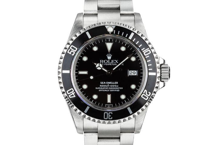 1999 Rolex Sea-Dweller 16600 SWISS Only Dial photo