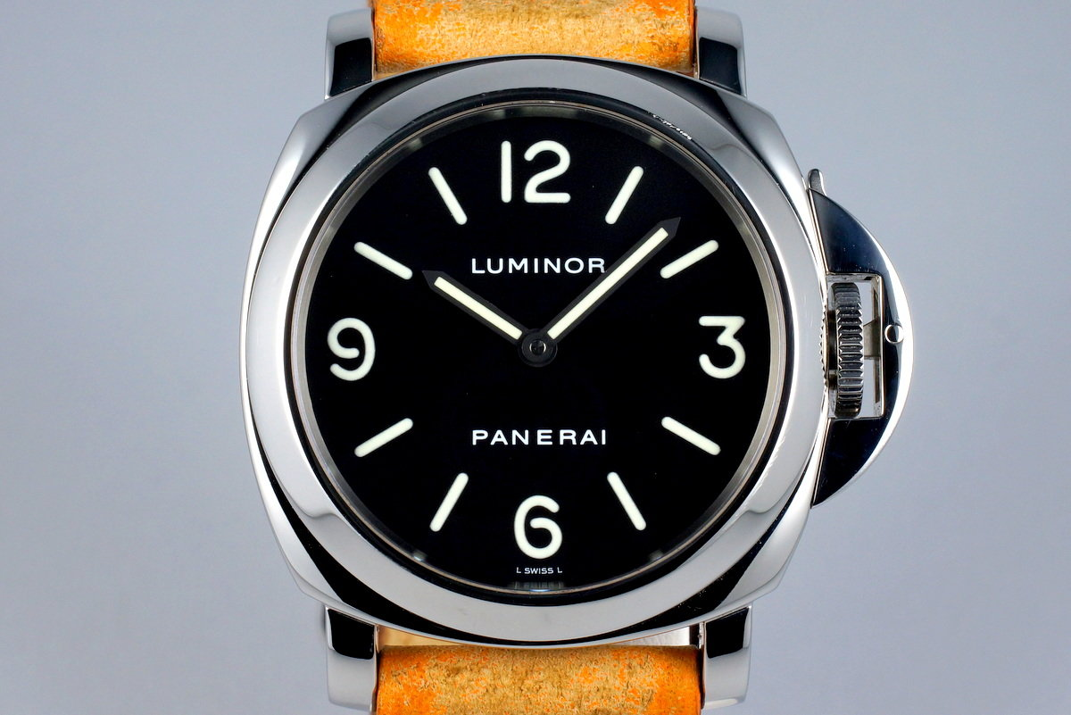 2003 Panerai PAM 112 Luminor with Service Box and Papers photo, #0