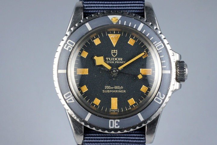 1968 Tudor Submariner 7016/0 Blue Snowflake photo