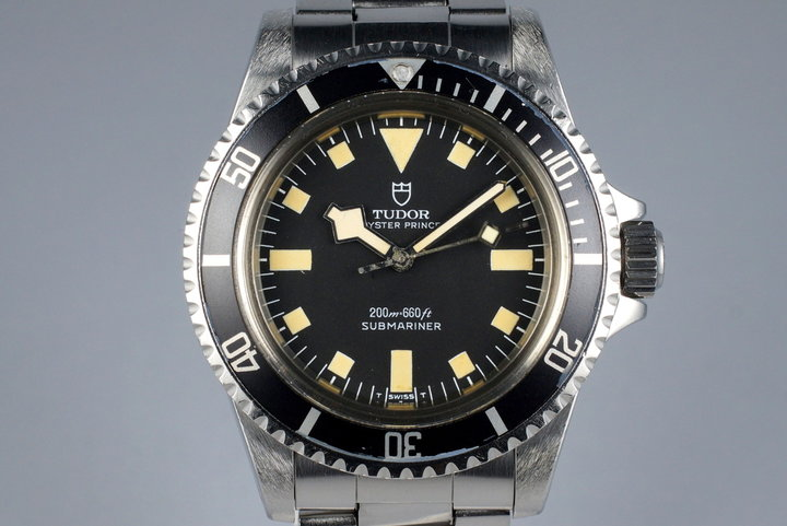 1977 Tudor Submariner 94010 Black Snowflake Dial photo