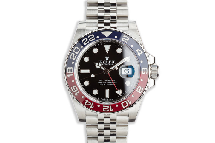 2020 Rolex GMT-Master II 126710BLRO with Full Set photo