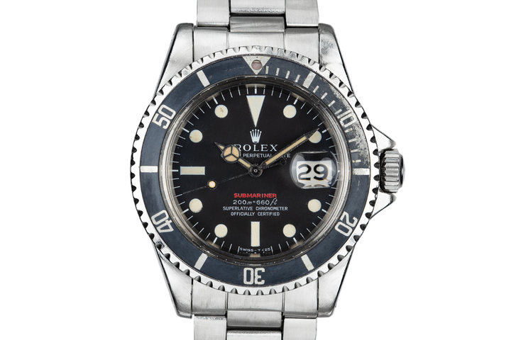 1969 Rolex Red Submariner 1680 with MK II Dial with FBI connection photo