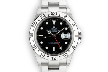 2003 Rolex Explorer II 16570 Black Dial photo