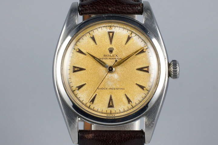 1952 Rolex Oyster Perpetual 6098 Cream Dial photo