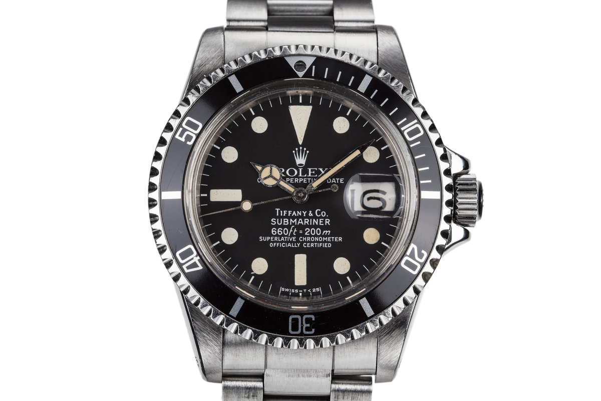 1977 Rolex Submariner 1680 with Tiffany Dial photo, #0