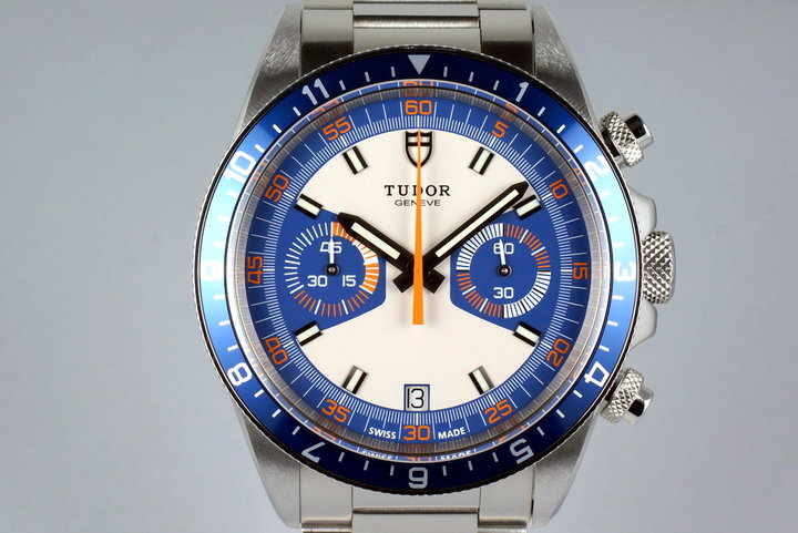 2013 Tudor Heritage Chrono 70330 with Box and Papers photo
