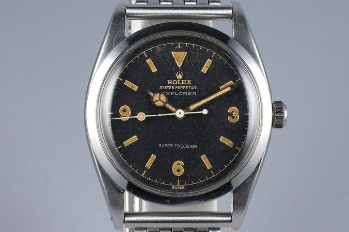 1958 Rolex Explorer 1 5504 photo